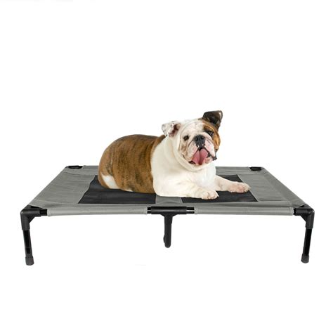 portable dog bed dog bed elevated indoor outdoor portable comfort large