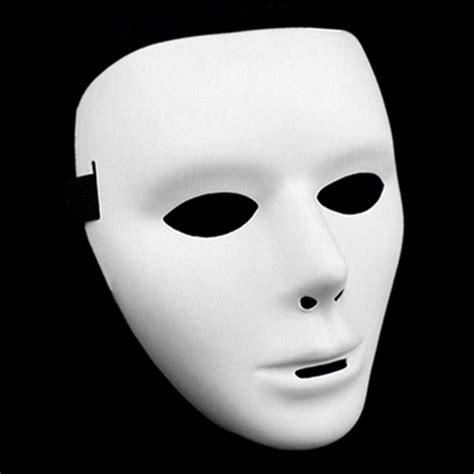 festival pvc white mask toys unique costume mask for