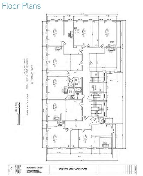 san francisco floor plans 4500 4510 mission st san francisco ca 94112 rentals san