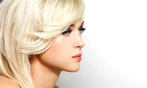 haircut package with highlights texture a salon groupon