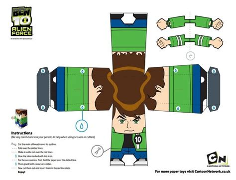 Ultimate Papercraft 3d - 27 best ideas about ben 10 on free