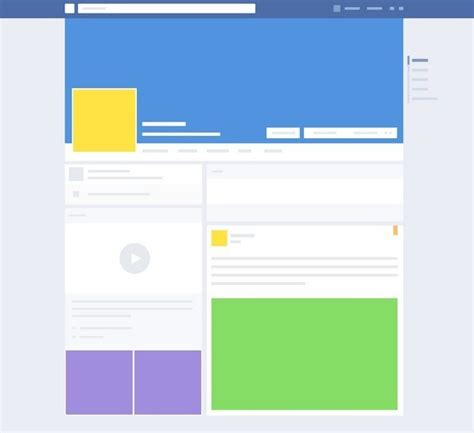 facebook layout free vector free flat social media mock ups psd titanui