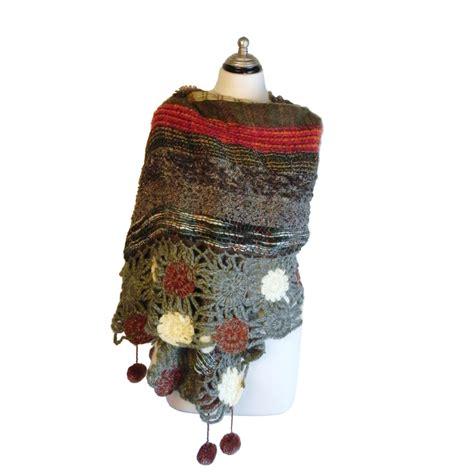 flora 2 scarf poncho venezia