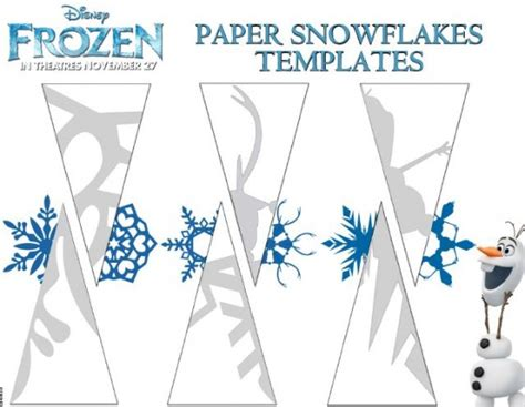 printable disney snowflakes free frozen snowflake patterns and coloring sheets