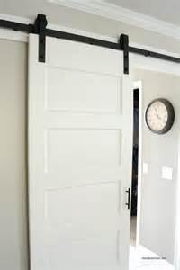 White Barn Door Barn Door