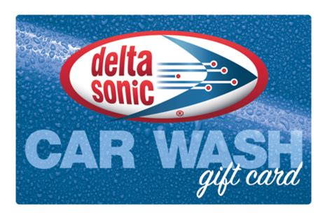 Delta Sonic Gift Card - gift cards delta sonic car wash
