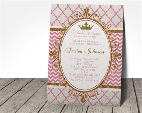 Baby Boat Princess princess baby shower invitation designs printable princess