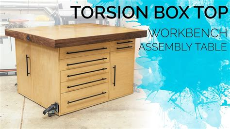 torsion box workbench assembly table outfeed table