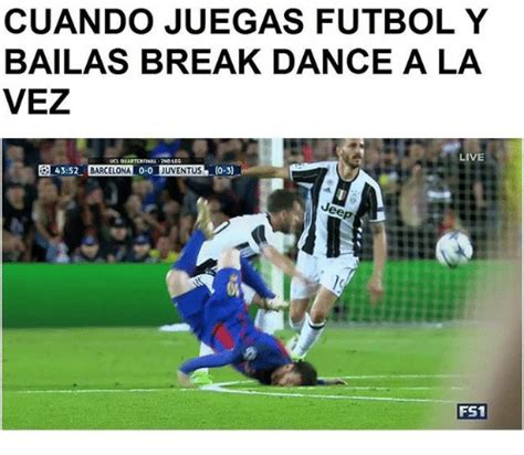 Break Dance Meme - cuando juegas futbol y bailas break dance a la vez live