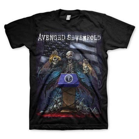 T Shirt Kaos Anak Avenged Sevenfold 4 avenged sevenfold presidential sellection t shirt