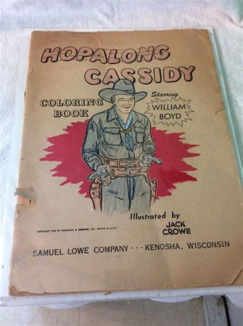 vintage coloring books for sale hopalong cassidy books for sale classifieds