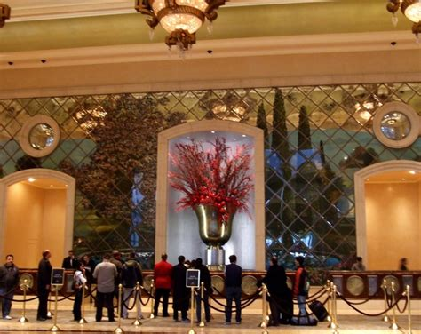 check out or in the front desk at the venetian photo