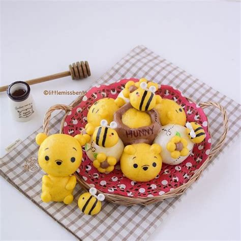Tsum Tsum Chigiripan Pull Apart Bread winnie and the pooh pull apart bread food 빵 디저트 및 음식
