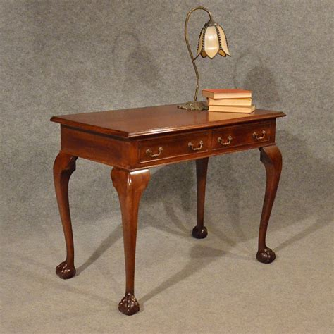 antique study table antique desk study office library table edwardian