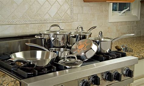 10 In Ceramic Pan With Copper Heat Conductor by T Fal Ultimate Stainless Steel Review Worth A Buy
