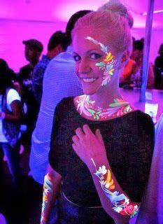 hairstyles for neon party 1000 ideas about neon face paint on pinterest glow face