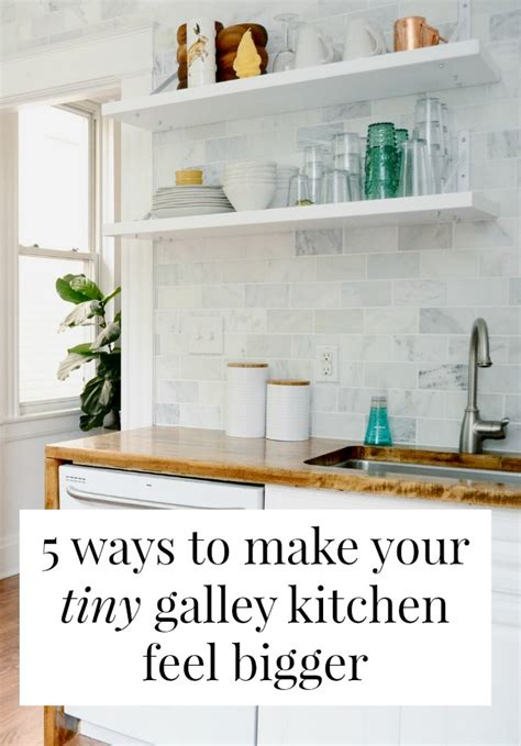 Boys Bedroom Ideas For Small Spaces 5 ways to make your tiny galley kitchen feel bigger