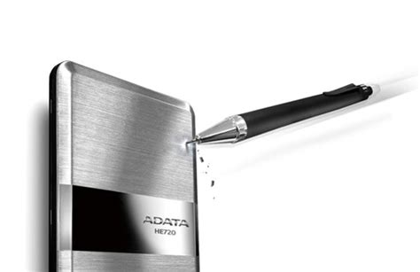 Adata He720 The Thinnest Portable Disk 1tb adata technology dram modules solid state drives usb flash drives external drives