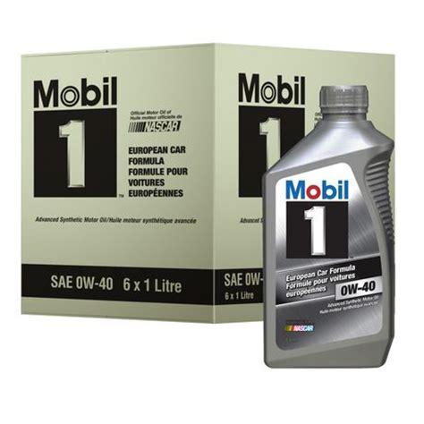 mobil european car formula advanced synthetic motor oil, 1