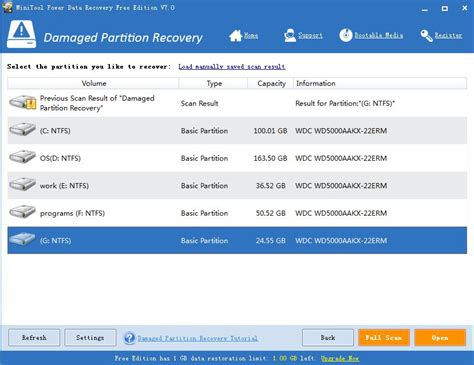 format hard drive vista recovery partition damaged partition recovery recovers file from damaged