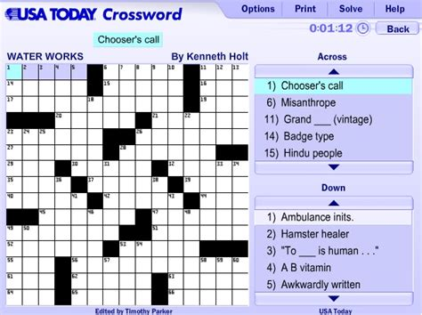 usa today crossword puzzle usa today crossword help guide