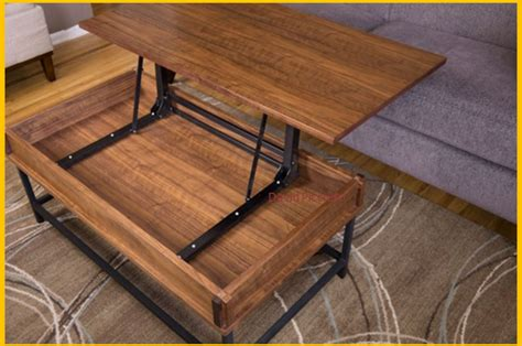 Build Lift Top Coffee Table Save On Expensive Commercial Coffee Tables By Building This Diy Coffee Table