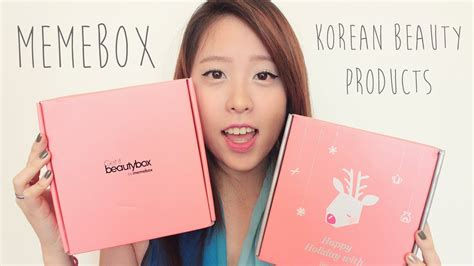 Meme Box - korean beauty products memebox youtube