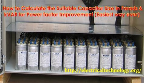 what is kvar capacitor bank how to convert capacitor farads into kvar vice versa