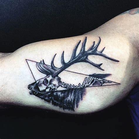 90 deer tattoos for men manly outdoor designs
