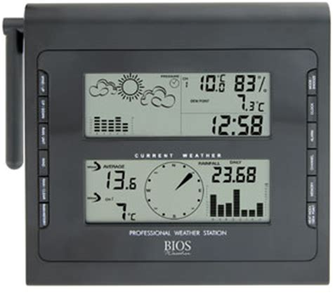 bios weather professional wireless home weather station
