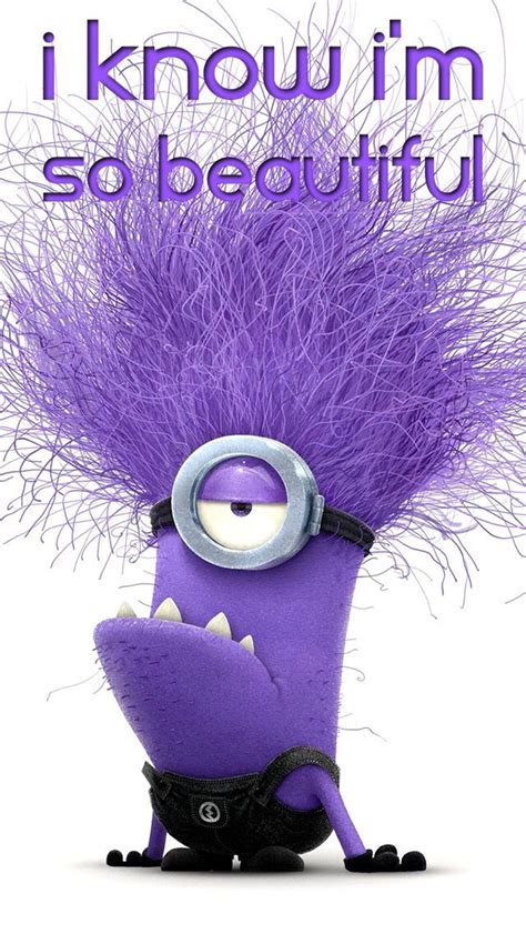 I Am Purple And I Am Beautiful by Purple Minion Names Www Pixshark Images Galleries