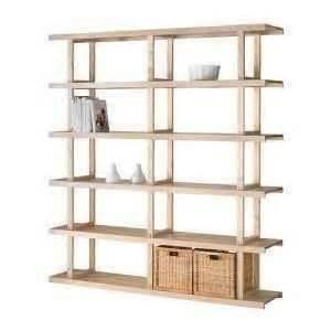 ikea norrebo modular wood shelving unit solid wood