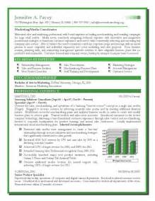 Sle Of Marketing Resume by Sales And Marketing Resume Format Resume Exles 2017