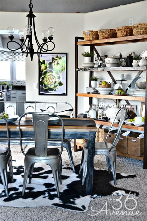 industrial home decor ideas 667 best dining room images on pinterest cabin