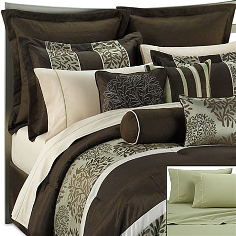 20 piece bedding set dana 20 piece full comforter set bed bath beyond