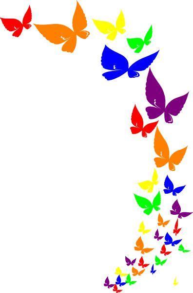 rainbow butterfly rainbow butterfly clip art  clip