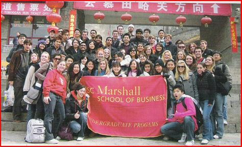 Usc Marshall Mba Program by Usc Marshall School Of Business On China Tour Bronson