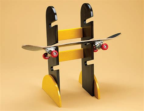 How To Make A Skateboard Rack by Skateboard Rack