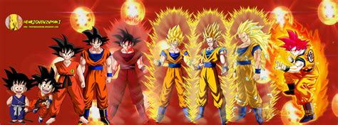 dragonball evolution goku wallpaper goku s evolution by henriqueuzumaki on deviantart