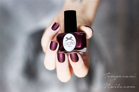 can you put top coat on matte nail opi matte top coat and ciat 233 can can swatch by temperani