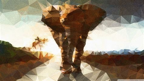 Abstract Elephant Wallpaper | wallpaper abstract elephant 1920 x 1080 full hd