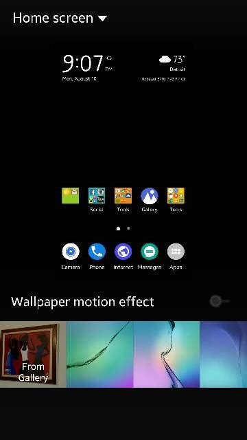 s6 edge wallpaper motion effect wallpaper motion effect issue android forums at