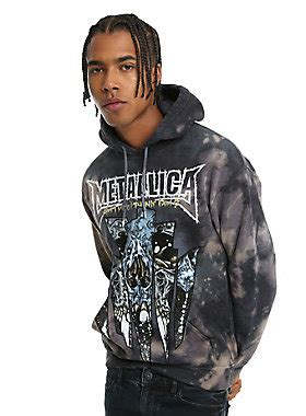 Sweater Metallica Anime metallica window wash hoodie topic