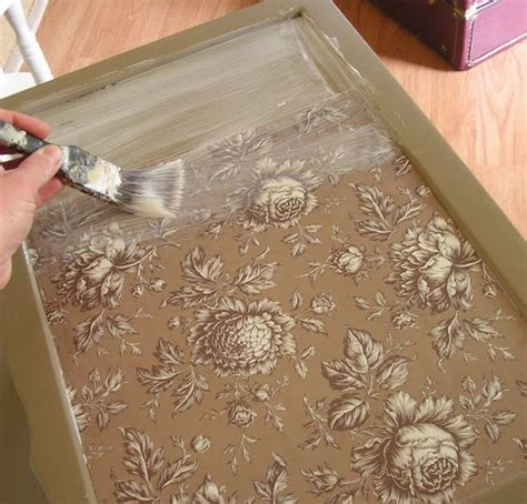Decoupage With Fabric On Wood - how to decoupage paper or fabric onto a damaged tabletop