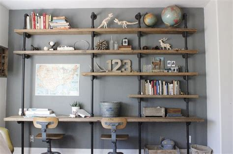 bookshelves for boys 14 ways to get organized with diy industrial shelving