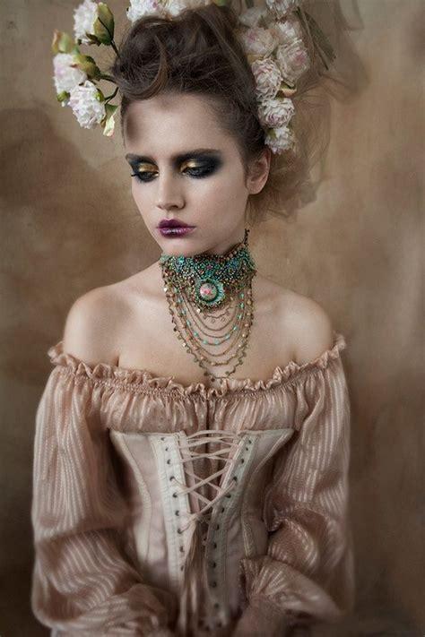 halloween punk hairstyles victorian hair make up costume halloween fantasy