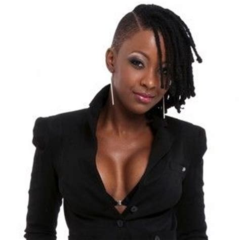 sophisticated styles for short locs 826 best natural hairstyles for black women images on