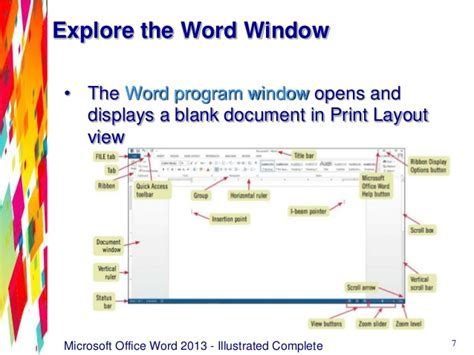 print layout view office 2013 word 2013 unit a