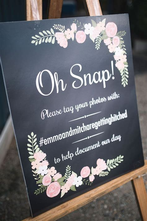 Wedding Anniversary Hashtags by The 25 Best Hashtag Sign Ideas On Wedding