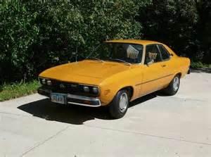 1974 Opel Manta For Sale 1974 Opel Manta German Cars For Sale